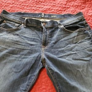 7 for all mankind mens size 38 jeans